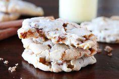 Cinnamon Eggnog Christmas Cookies