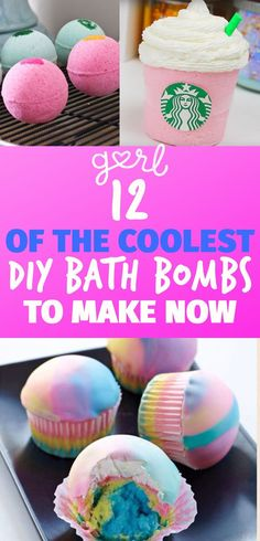 If happen to have been on the internet at all recently, you've probably noticed that bath bombs–those effervescent balls of color and perfume that your whole ba