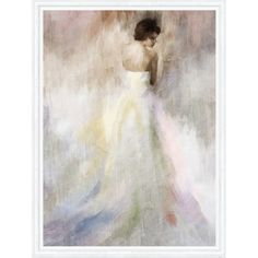 Woman Framed Canvas Print ❤ liked on Polyvore featuring home, home decor, wall art and framed wall art
