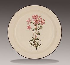 Plate, Thomas Pardoe (attributed to)  circa 1810, LACMA Collections Online