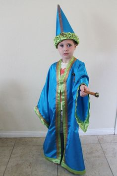 How to make a Wizard Costume