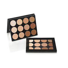 Mehron Makeup Foundation  Celebre ProHD Pressed Powder Contour  Highlight Palette  12 Shades * Be sure to check out this awesome product. (This is an affiliate link) #MakeupFace