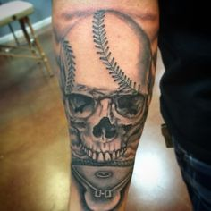 4736a62b089b9 50 Sporty Baseball Tattoo Designs – For The Love Of The Game
