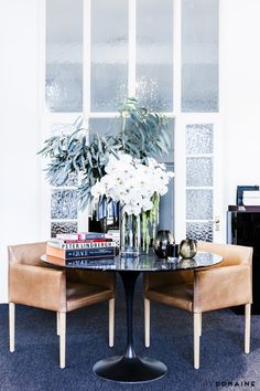 This Fashion PR Office Perfects the Art of Refined Minimalism via @MyDomaine