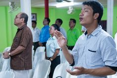 """Joseph, a Cambodian pastor trained by Langham, says, """"Langham Preaching is really helping us with how to preach the Word of God in a relevant way, in a faithful way, and according to the context. This is my passion, and to preach the Word of God is quite a privilege. We as a church take advantage of the freedom to feed the word of God to the congregation, so that they can grow and multiply. We need leaders, we need a shepherd to take care of God's sheep, so that's why we are here."""""""