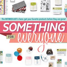 the retired list is here! shop my online store to get yours before they're gone! www.melaniegiesel.stampinup.net