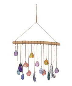 Take a look at this Hanging Stones Décor today!