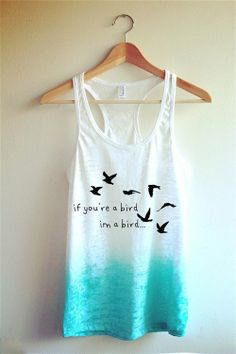 Cute Tank ♥ - Great for a day at the beach!