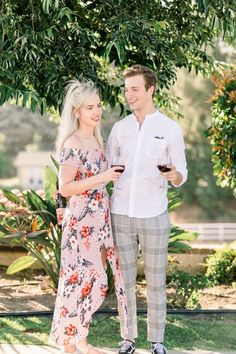 Sweet vineyard proposal Engagement Outfits, Engagement Shoots, Find A Match, Vineyard Wedding, Plan Your Wedding, California Wedding, Proposal, How To Memorize Things, Style Inspiration
