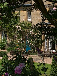 Inside the Home of the Dowager Duchess of Devonshire | AWESOME slide show from: Sotheby's