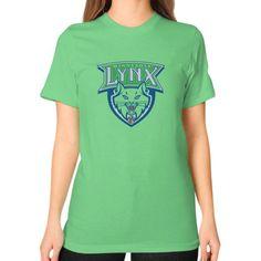 Minnesota Lynx Unisex T-Shirt (on woman)
