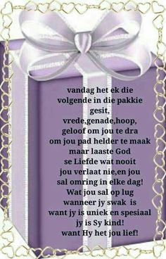 Lekker daggie Birthday Greetings For Daughter, Happy Birthday Best Friend, Happy Birthday Quotes, Happy Birthday Wishes, Good Morning Messages, Good Morning Wishes, Morning Quotes, Bible Emergency Numbers, Birthday Prayer