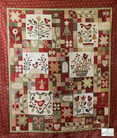 A Merry Christmas Garden FABRIC SET - by Gail Pan DesignsSECONDARY_SECTION$160.00: Fabric Patch: Patchwork Quilting fabrics, Moda fabric, Quilt Supplies,�Patterns