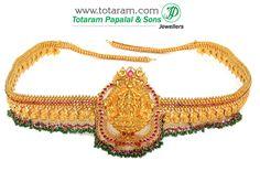 22K Gold '4 in 1' Lakshmi Vaddanam