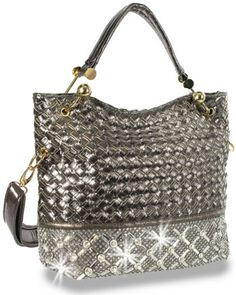 a30aa985f6 Crystal Rhinestone Gold Bronze Fashion Handbag Purse www.SparkleBags.com  Devil Wears Prada
