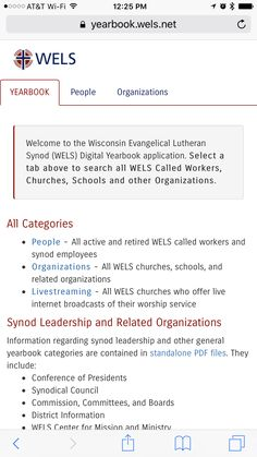 WELS Online Yearbook Web App Graphic Design Projects, Lutheran, Over The Years, Wisconsin, App, Digital, Wels, Apps