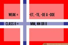 How to Learn Norwegian Grammar: 2 Steps (with Pictures)