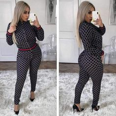 (Size:S~XL fashion winter suits for women/lady,Elegant suits african traditional clothes for lady/women Vintage Tee Shirts, Winter Suit, Backless Jumpsuit, Patchwork Dress, African Fashion, African Style, Slim Fit Pants, African Attire, Matching Outfits