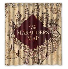 #Harry #Potter Shower Curtain