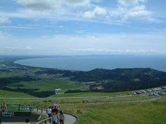 Akita, Oga-hantou from Mt.Kanpuu