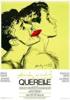 Rainer Weiner Fassbinder - Querelle | Movie (1982) one of the most beautiful dance fights I have ever seen (and I have this poster :-) )