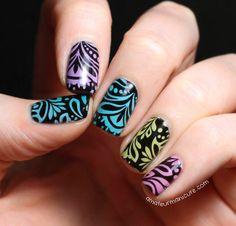 Amateur Manicure #nail #nails #nailart