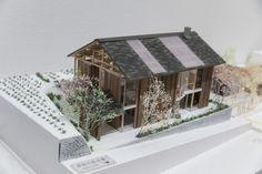 受賞作品 - 木の家設計グランプリ Co Housing, Presentation Skills, Tiny House Design, House In The Woods, Thesis, Competition, Bamboo, Miniatures, Plate
