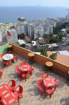 Bar do Alto - Morro da Babilônia - Rio de Janeiro
