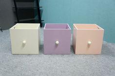 Pudełko ANNABELLE box, MDF różowy - Nowoczesne meble do salonu i do biura - sklep internetowy.