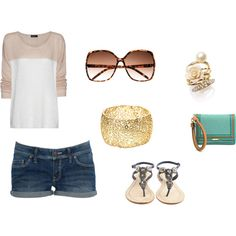 Casual Outfits - Casual Summer Day, created by krissy-martell