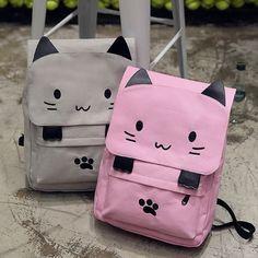"Cute kawaii cat's paw backpack SE10407      Coupon code ""cutekawaii"" for 10% off"