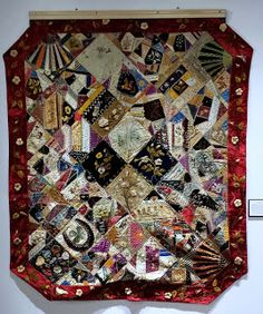 History and Culture by Bicycle: Homegrown Art: Tradition Quilt Designs, Crazy Quilt