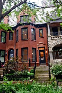 Victorian row house in Chicago. #DreamHome