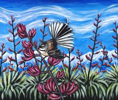 Fantail in the Harakeke (Flax) by Ira McCully Fine Art Giclee Photographic Print at Artist Rising. Artist Rising is the premier destination for discovering original art, fine art and photography prints, and limited edition art by living artists. Original Paintings, Original Art, Canvas Prints, Art Prints, Sign Printing, Lovers Art, Art For Sale, Saatchi Art, Arts And Crafts