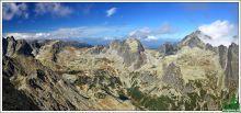 Panorama Veľkej studenej doliny