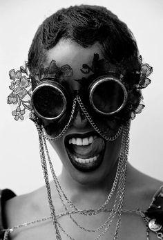 Steampunk Tendencies   Photography by Ellie Mitchell #Fashion #Steampunk
