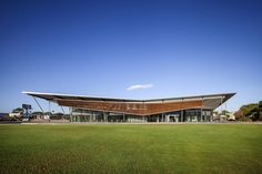 "Built by MPH Architects in Adelaide, Australia with date 2013. Images by David Sievers. The Thebarton Community Centre in Kings Reserve was designed as an iconic ""pavilion in the park"" in response to the C..."
