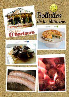 https://www.facebook.com/portalbollullosmitacion/photos/a.238104486374667.1073741828.234411083410674/443507415834372 ¡Este fin de semana no dejes de venir al Kiosko El Burlaero! Tendremos Tortillas rellenas de queso y verduras, Sangre encebollada, Butifarra y Chorizo al infierno. ¡Todo exquisito! :) ____________________ KIOSKO EL BURLAERO facebook.com/Kiosko-El-Burlaero-354289574771498 Calle Mulhacén, s/n, Bollullos de la Mitación Tfno.: 605 790 487