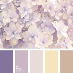 Цветовая палитра №3025 | IN COLOR BALANCE More