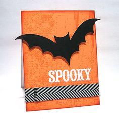 Laura's Card Corner: spooky...