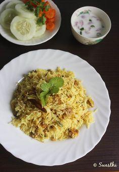 Scrambled Egg Biriyani, a quick and easy biriyani....step by step tutorial....it just takes 30 minutes!! #eggbiriyani