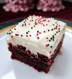 Red Velvet Brownies .. . .