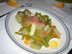 Menestra, San Ignacio Restaurante, Pamplona.