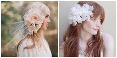 Resultado de imagen para dibujos de chicas con flores en la cabeza