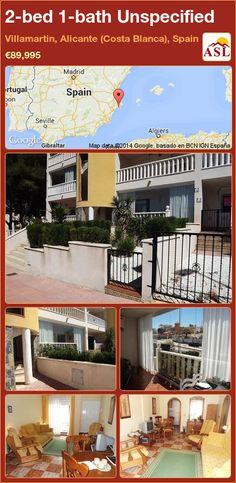 2-bed 1-bath Unspecified in Villamartin, Alicante (Costa Blanca), Spain ►€89,995 #PropertyForSaleInSpain