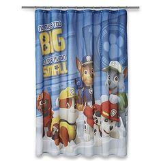 Kids, Children's Fabric Disney, Nickelodeon, Marvel, DC Comics Shower Curtain