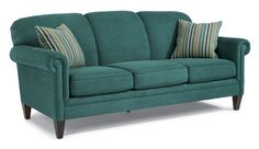 Flexsteel Living Room Fabric Sofa With Out Nails Living Room Furniture Sale, Living Room Redo, At Home Furniture Store, Dream Furniture, Apartment Living, Transitional Sofas, Hickory Furniture, Furniture Styles, Furniture Ideas