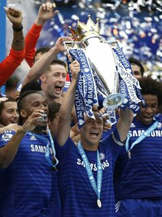 NICK HARRIS: Chelsea's Premier League title success earned them in total prize money according to official figures - the most ever earned by a single club in one season from central funds. Football Is Life, Best Football Team, Chelsea Football, Nike Football, Sunderland, John Terry, Chelsea Fc Wallpaper, Content Management System, Chelsea Fans
