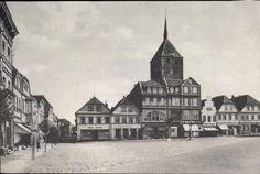 """Sławno pocztówka Markt und Kirch """"Pommern im Bild"""""""