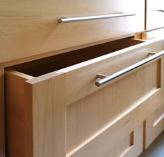 Minimalists love our Milport Maple Shaker RTA Cabinets and Doors